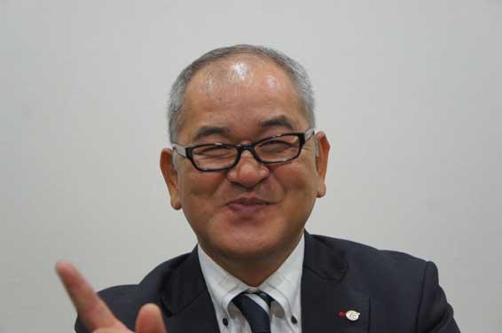 営業本部長 大野(専務取締役)